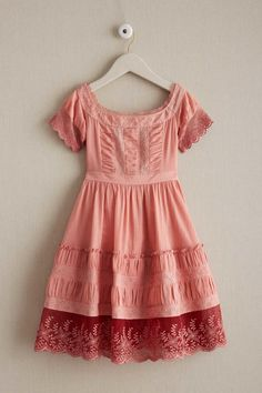 Girls Country Weekend Dress: #Chasingfireflies $99.00