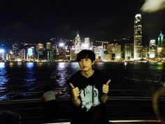 Super Junior Eunhyuk posted a picture of himself in Hong Kong. http://www.kpopstarz.com/tags/super-junior