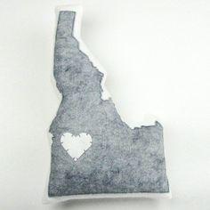 Idaho Pillow Light Gray