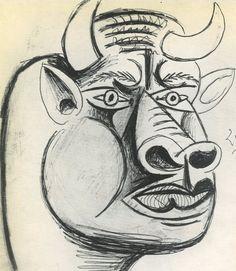 "Sketch for ""Guernica"", 1937, Pablo Picasso."