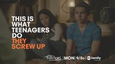The Fosters ABC Family | Season 1, Episode 2 Consequently | Quotes