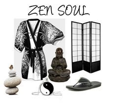 """""""ZEN SOUL"""" by krydy ❤ liked on Polyvore featuring Reef, vintage, men's fashion and menswear"""