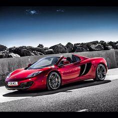 Ruby Red Beauty! Speed Machine! McLaren MP4-12C