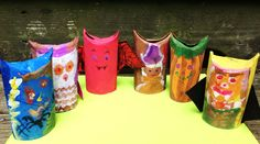 Halloween toilet paper crafts