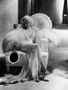 Dinner at Eight~ Jean Harlow Short Skirts