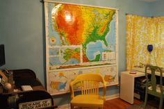 Want this map for my future office/craftroom