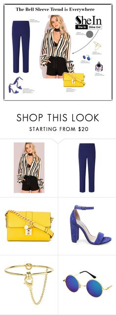 SHEIN by yelo7705 on Polyvore featuring Mode, Tory Burch, Steve Madden, Dolce&Gabbana, Eddie Borgo and Yves Saint Laurent