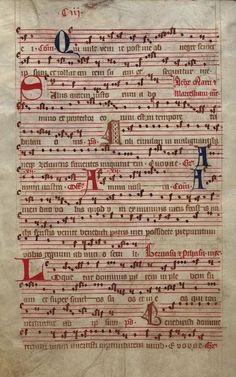 Moosburger Graduale um 1360 Moosburg Cim. 100 (= 2° Cod. ms. 156)  Folio 206