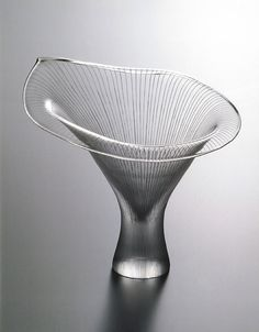 Kantarelli vase designed by Tapio Wirkkala for Iittala in 1946.