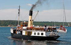 """Atlantic Challenge bruger S/S """"Skjelskør"""" som tilskuerbåd under konkurrencerne. Foto: Lars Skov. Atlantic Challenge uses S / S """"Skjelskør"""" as a spectator boat during the competitions."""