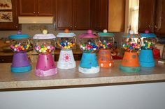 Birthday Party craft, was so much fun!