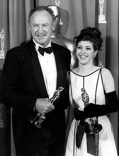 Gene Hackman & Marisa Tomei won the Academy Award for Best Supporting Actor & Actress for Unforgiven & My Cousin Vinny in 1992.