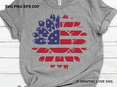 Land Of The Free, Vinyl Projects, Circuit Projects, Vinyl Shirts, Fourth Of July, Cricut Design, American Flag, Shirt Designs, Etsy