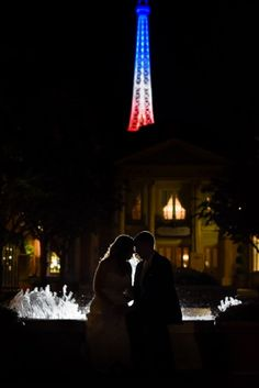 Paris love at Epcot. Photo: Stephanie at Disney Fine Art Photography