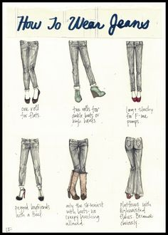 We think that there is no woman in this world that hasn't worn jeans at…