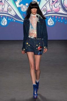 Jean Stories Presents the 5 Top Denim Trends from the Spring 2015 Collections – Vogue - Anna Sui