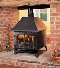 Like the way this splits up the room plus massive double log burner lots of heat…