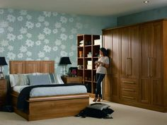 #walnut #pvc #wardrobes #design #living #bedroom #colours #painted #wood #style #stylish #'living #decor