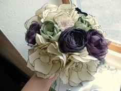 Vintage fabric bouquet