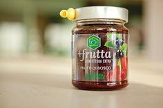 """Marmellata """"Più frutta"""" di Apicoltura casentinese #packaging #design #food"""