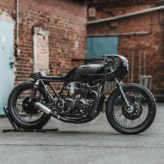 CB550 by @hookieco #hookieco #cb550 #honda #caferacer #custom #motorcycle