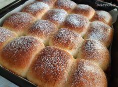 Buchty ako obláčik (fotorecept) - recept | Varecha.sk Food Terms, Potato Puree, Fish Dinner, Challah, Apple Butter, Baked Apples, Roasted Sweet Potatoes, Kefir