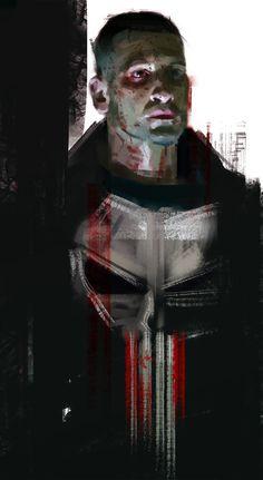 Frank Castle aka The Punisher. Played by Jon Bernthal - Daredevil season 2 (2016).