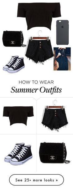 summer outfit #1 by zaraeallen on Polyvore featuring Chanel
