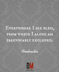 Frankenstein Quotes Quotes From Frankensteinmary Shelley  Frankenstein  Pinterest