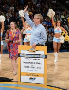 Nuggets send Athletic Trainer Jim Gillen out in style