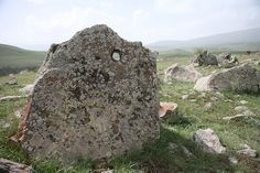 Carahunge, Armenia - the eye of the stone