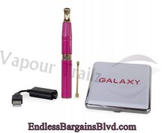 KandyPens Galaxy Vaporizer Sale | KandyPens | VapourTrailz  ACCESSORIES (INCLUDED): 1 x Temperature Controlled Battery 1 x Dual Coil Quartz Crystal Atomizer 1 x Chamber Connector 1 x Mouthpiece 1 x Travel Case 1 x USB Charger 1 x Dab Tool 1 x Instruction Card
