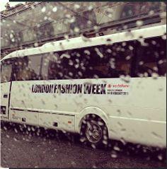 The London Fashion Week bus #LoveLFW