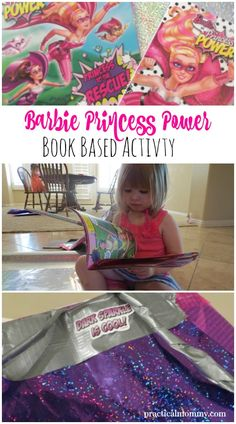 How To Make A Barbie Princess Superhero Cape With Wrapping Paper and Tape