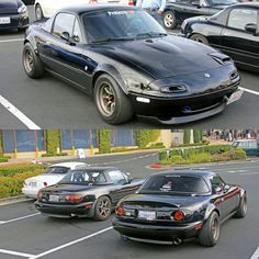 "topmiata: ""speedypenguin #Clubroadster TopMiata.com #TopMiata #mazda #miata #mx5 #eunos #roadster #garagevary"""
