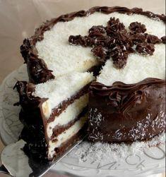 Torte Recepti, Kolaci I Torte, Baking Recipes, Cake Recipes, Dessert Recipes, Sweet Desserts, Sweet Recipes, Cake Cookies, Cupcake Cakes