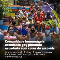 Um arco-íris de energia 🌈 #LinkNaBio ou gayblog.com.br