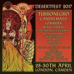 Desertfest London 2017