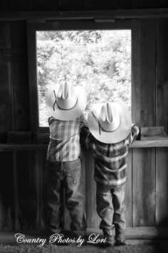 Our little cowboys