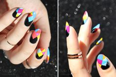 Scratch Nail Wraps in Prismatic + Giveaway