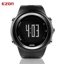 EZON Pedometer Calories Monitor Men Sports Watches Waterproof 50m Digital Watch Running Swimming font b Diving