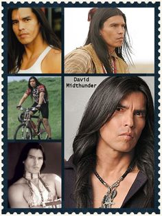 David is from Fort Peck Indian Reservation Montana enrolled Tribal Member. He´s Hunkpapa Lakota, Hudeshabina Nakoda & Sissiton Dakota. He is a very impressive actor and has been involved in many film productions and series such as Comanche Moon ( as Famous shoes ) and Into the West ( White Crow ). Everyone can check this out by watching his films!! And there are more yet to come, David has been working on several filming projects due out in 2011! Let´s wait for it! ( anxiously )