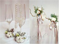 Олеся Гавриш - свадебная флористика и декор - Букет невесты с пионовидными розами, хлопком, ранункулусами и анемонами