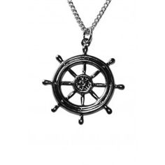 Shipwheel Necklace