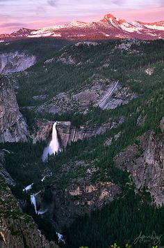 Yosemite back country, including Nevada and Vernal Falls.