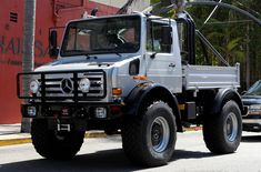 AKA the Mercedes Unimog U 4000/U 5000. It retails for about $250,000