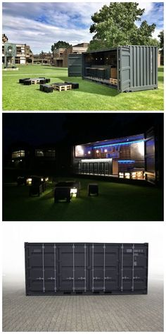 Transportable shipping container bar