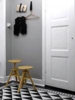 Geometrie in de vloer in de gang  - Woontrend: 20 geometrische vormen van Pinterest