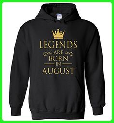 Legend Are Born in August Best Gift For Birthday Hoodie - Birthday shirts (*Amazon Partner-Link)