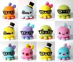 Custom Octopus Plush Toy by DaisyCombridge - Crazy adorable!